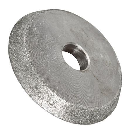 Meule diamant D. 80 x Ep. 13 x Al. 18 mm pour affûteuse de forets - DWORX