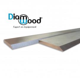 Fer de dégauchisseuse/raboteuse 260 x 20 x 2.5 mm acier HSS (le fer) - DWORX