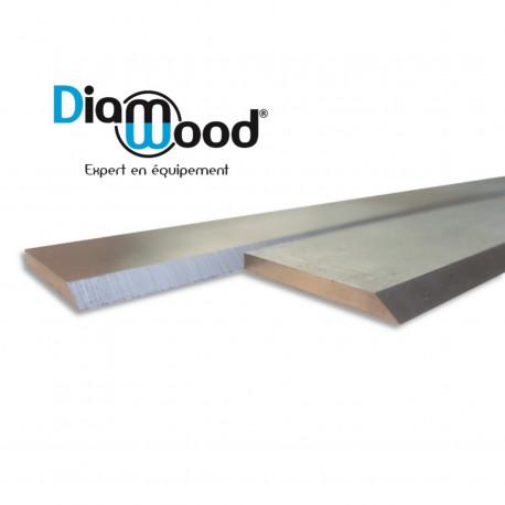 Fer de dégauchisseuse/raboteuse 410 x 25 x 3 mm acier HSS (le fer) - DWORX