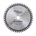 Lame de scie circulaire HM universelle D. 250 x Al. 30 x ép. 3,2/2,2 mm x Z48 Alt pour bois - Diamwood