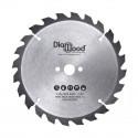Lame de scie circulaire portative HM débit D. 210 x Al. 30 x ép. 2,8/1,8 mm x Z24 Alt pour bois - Diamwood
