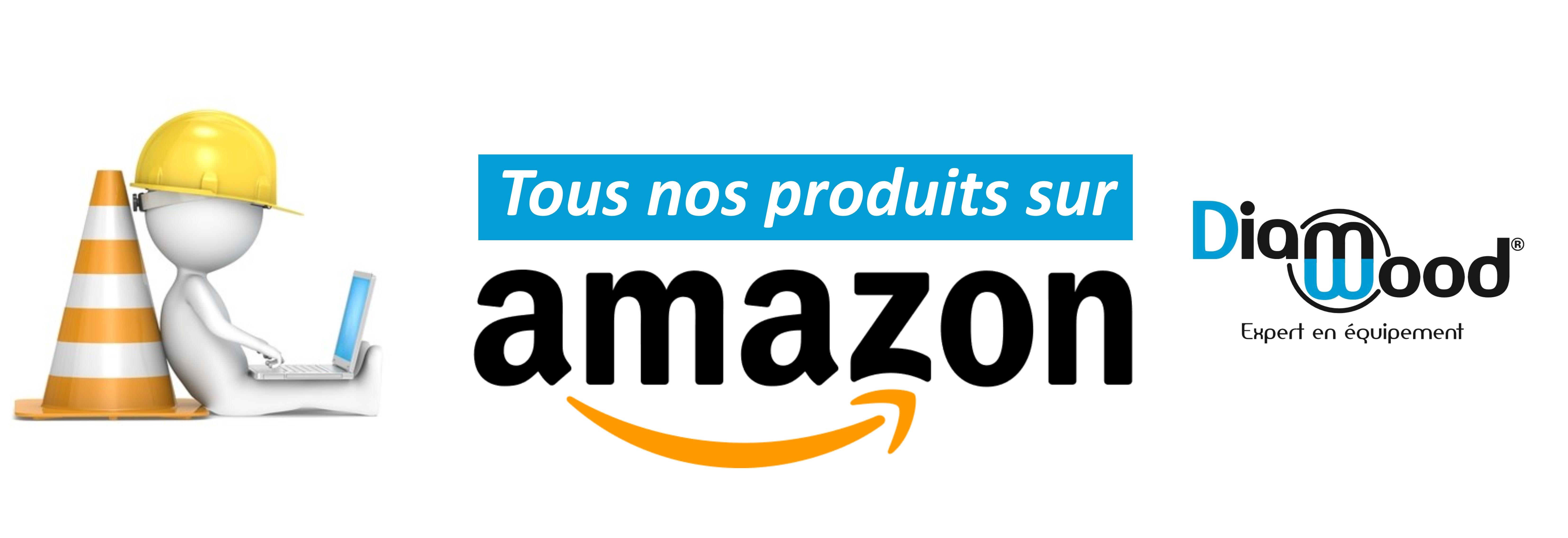 Achetez tous nos produits sur Amazon !